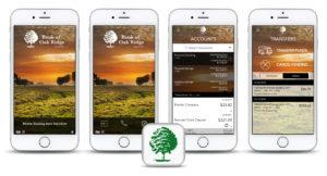 Daniel Falquez - Portfolio - Bank of Oak Ridge - iPhone