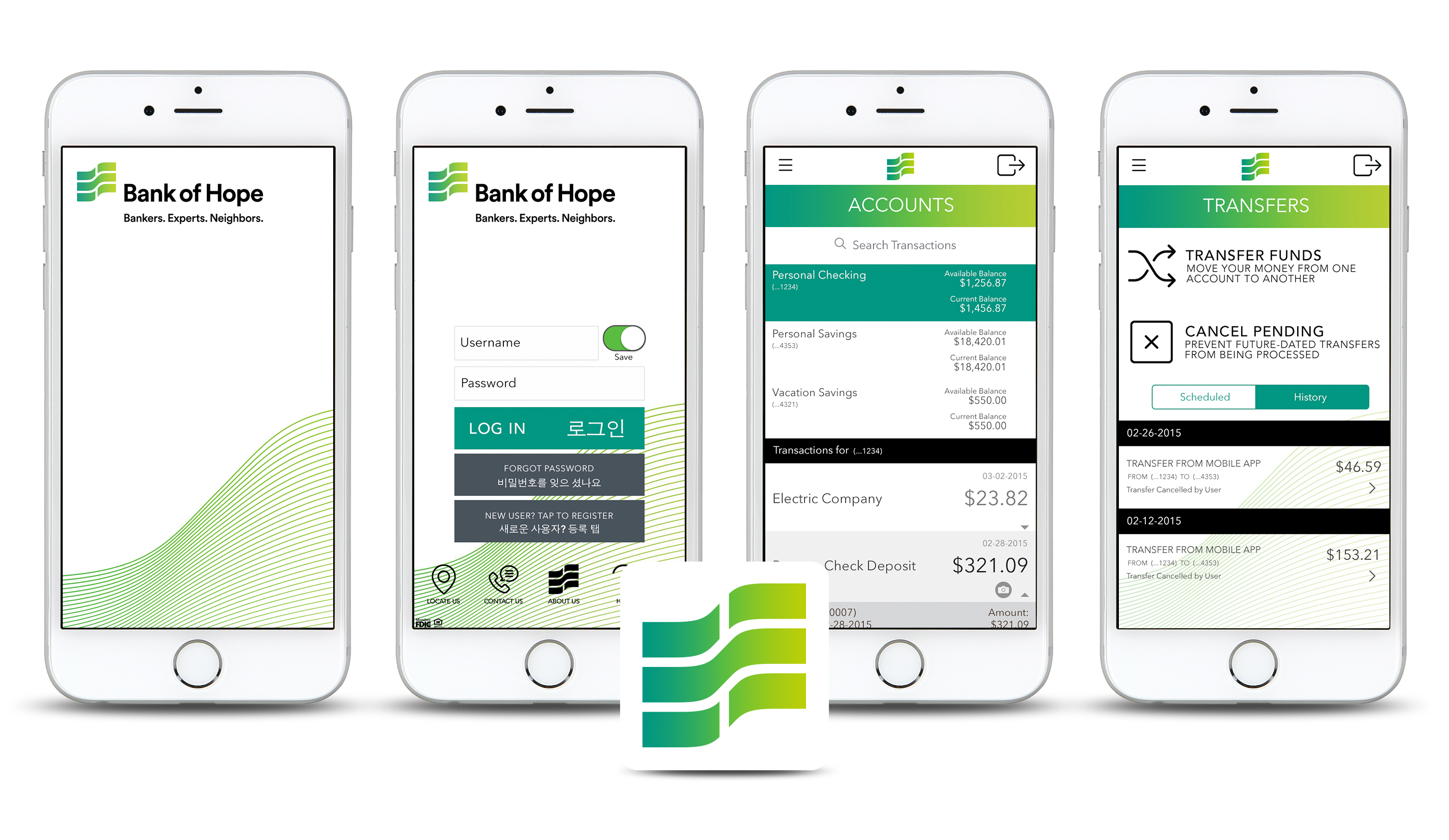 Daniel Falquez - UX Portfolio - Bank of Hope