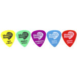 Musick Road Guitar Pick Set Product Design and Branding