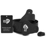 Musick Road Black Guitar Strap Product Design and Branding