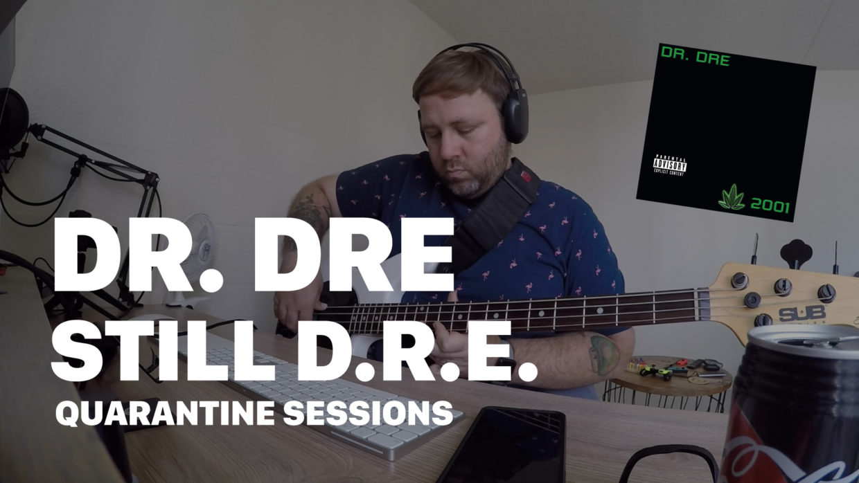 Dr. Dre - Still-D.R.E. cover by The Quarantines