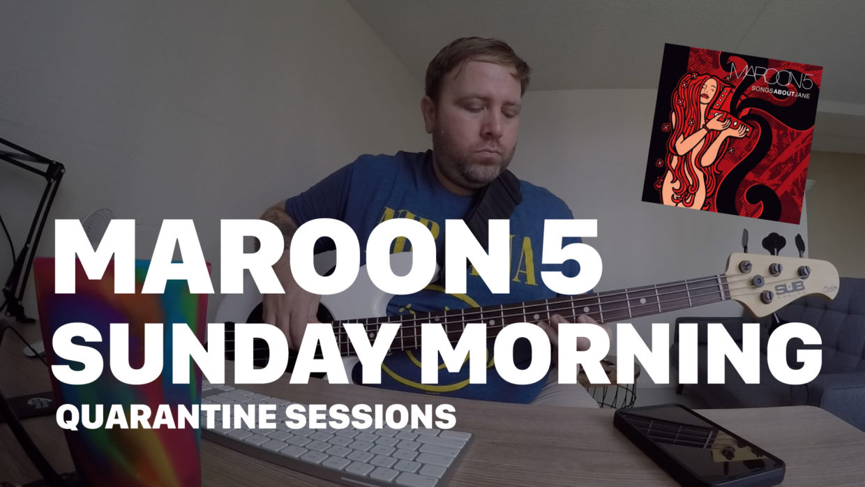 Maroon 5 - Sunday Morning cover by The Quarantines