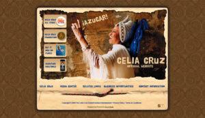 Daniel Falquez - Web Portfolio - Celia Cruz
