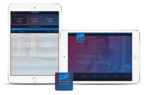 Daniel Falquez - Portfolio - Two Rivers Bank - iPad