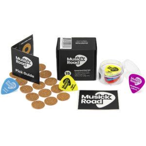 Musick Road Guitar Pick Set Product Design and Branding