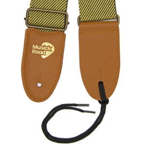 Musick Road Vintage Guitar Strap Product Design and Branding